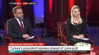Erdogan gives an exclusive interview to TRT ahead of elections