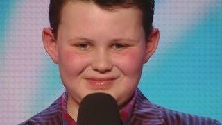 Britain's Got Talent S08E07 Ellis Chick 12 year old sings Michael Buble
