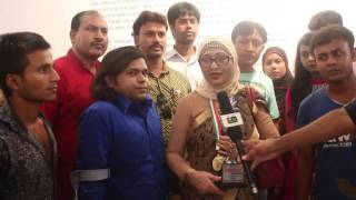 Salman Shah Mother Live@Anondo Binodon Star Award@Swadesh tv-RJ Saimur