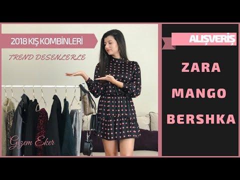 ALIŞVERİŞ | 2018 KIŞ KOMBİNLERİ ( Zara, Mango, Bershka )