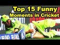Top 15 Funny Moments In Cricket History | Funniest Moments Video mp4,hd,3gp,mp3 free download