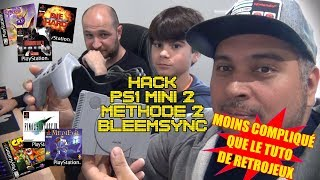 (TUTO) Hack Playstation Classic Mini - Methode Bleemsync - Rajoutez 8 jeux !!!