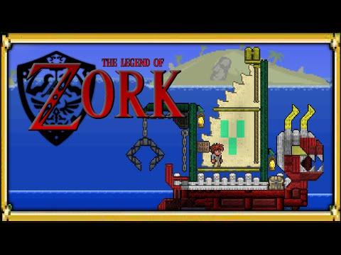 Terraria 1.2.4 - Legend of Zork - Full Adventure Map! (Yrimir Adventure Map)