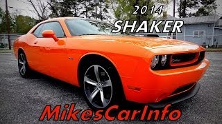 Dodge Challenger RT Shaker 2014 Videos