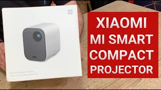 Xiaomi Mi Smart Compact Projector Mijia SJL4014GL - Unboxing do Projetor