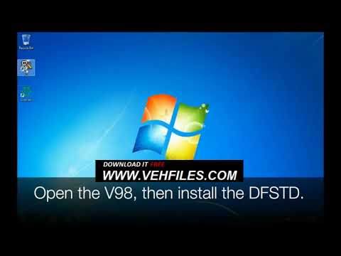 How to install,  Activate and Update Ford VCM II IDS v98 on Windows 7/10