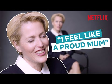 The Gillian Anderson Interview | Sex Education