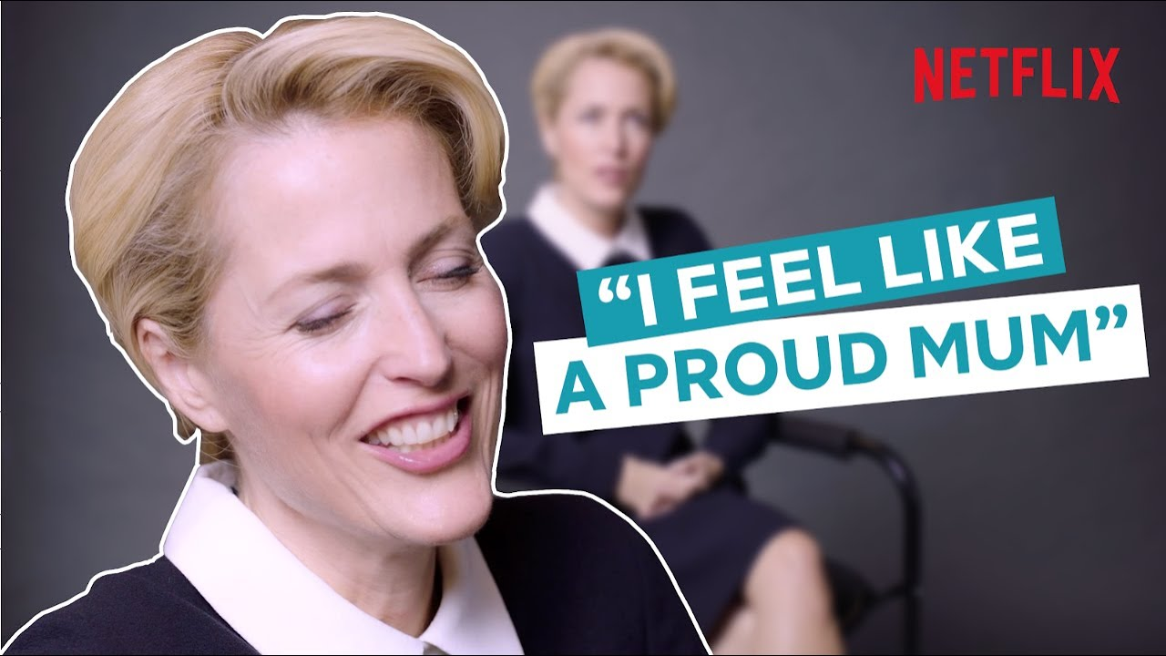 Gillian Anderson's American accent throws some people off - CNN