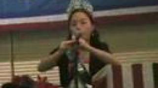 """Bamboo Under the Moonlight"" played by Hmong-Chinese girl"