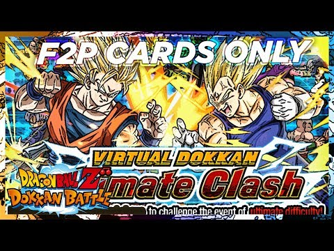 CAN I BEAT IT!? Dokkan Battlefield Using Only F2P Cards | DBZ Dokkan Battle