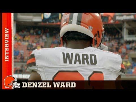 Denzel Ward talks his Week One performance | Cleveland Browns