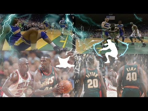 THE RAREST CONTACT DUNK ON THIS GAME!!! (SHAWN KEMP ANIMATION)   TOP 10   NBA 2K17 MyPark
