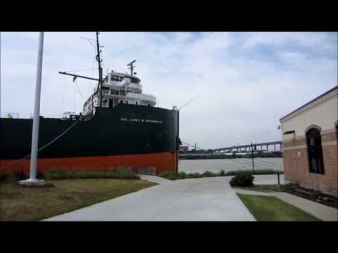 Touring the James M  Schoonmaker Lake Freighter