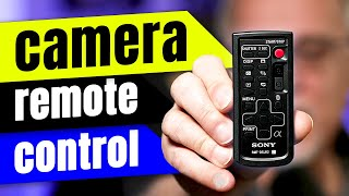 Camera Remote Control - Demos/Examples (ft. Sony a7s3)