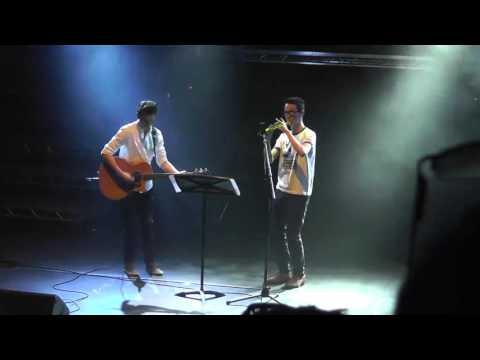 George Brandon and Joe Beadle at Berkhamsted Talent Show 2016