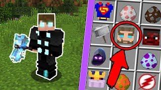 Minecraft: NOVAS ARMADURAS DE HERÓIS NO MINECRAFT! (ARMADURA DO THOR ) !