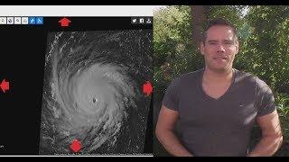 Hurrikan FLORENCE steuert auf die US Küste zu
