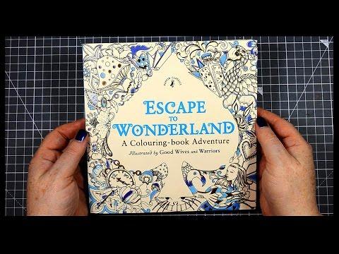 Colouring Demonstration   Escape to Wonderland   Polychromos