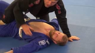 BJJ - Ezekiel choke from half mount