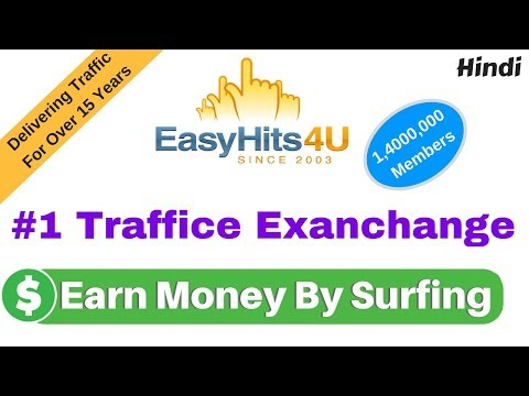 EasyHits4U Earn Money By Surfing Best Traffic Exchange 2018