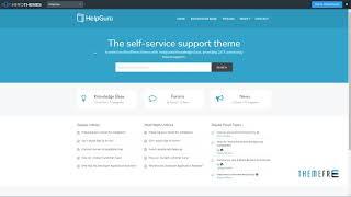 HelpGuru Wordpress Theme Review & Demo | Self-Service Knowledge Base WordPress Theme | HelpGuru Price & How to Install