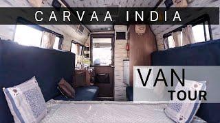 Inside our Caravan 'Fine' | Van tour | Carvaa India