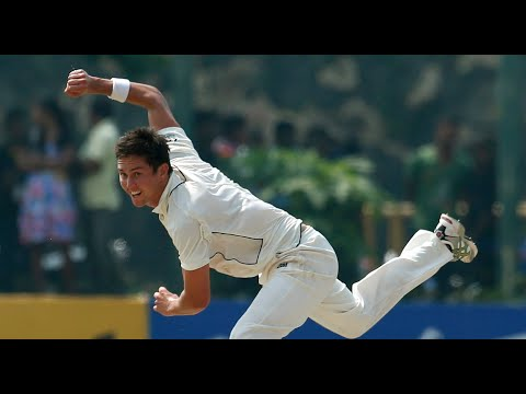 Tim Southee and Trent Boult | Terrific spell of swing bowling v Sri Lanka - 1st Test, Galle 2012.