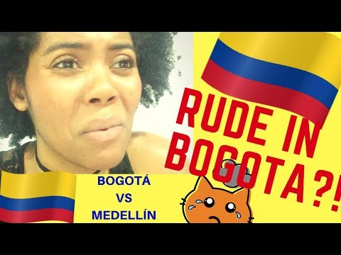 COLOMBIA TRAVEL:  PEOPLE IN BOGOTA ARE RUDE?! | BOGOTA VS MEDELLIN | BEING LONELY | Chanelle Adams