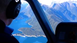 Explore Milford From Above - Milford Sound Scenic Flights - New Zealand.