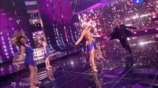 """[HQ] Eurovision Spain 2009 - Soraya, """"La noche es para mí"""" (FINAL)"""