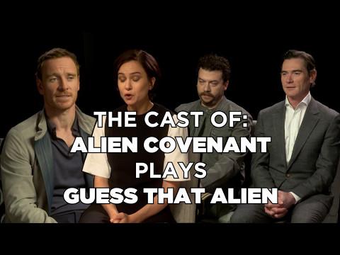 QUIZ! Can Michael Fassbender Guess That Alien?