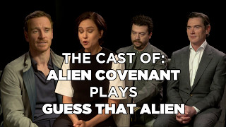 QUIZ! Can Michael Fassbender Guess That Alien?