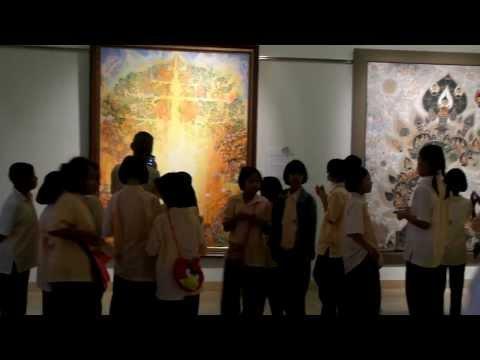 35th Bualuang Paintings Exhibition Bangkok Queen