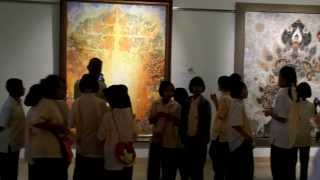 35th Bualuang Paintings Exhibition Bangkok Queen