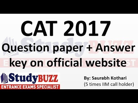 Breaking news: CAT question paper and answer key released!