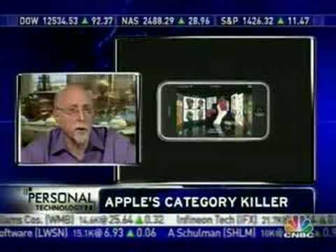 Walt Mossberg on CNBC re: iPhone