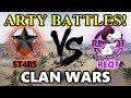 World of Tanks - 5T4R5 vs REQT - Arty Battles at the End! - El Halluf - CLAN WARS #31
