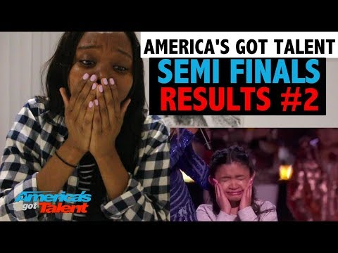 AMERICA'S GOT TALENT 2017 - SEMI FINAL RESULTS - REACTION