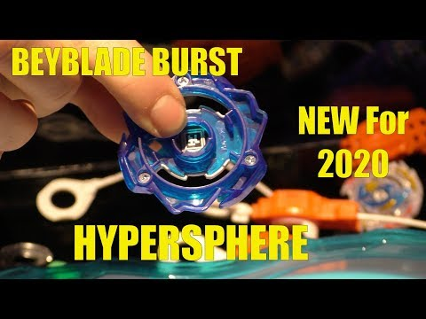 BEYBLADE Burst Hypersphere - All New Beyblades for 2020, First Look