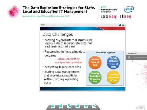 StateScoop Webinar: The Data Explosion
