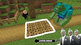 Traps for Mutant Creatures in Minecraft Part 1 - Coffin Meme