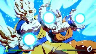 Dragon Ball FighterZ - NEW Characters Super Attacks Montage | Beerus, HIT, Rose, Gohan +more (HD)