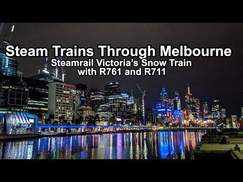 Download Steam Whistles Through Melbourne's CBD! Steamrail