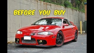 Watch This BEFORE You Buy a Mitsubishi Eclipse GSX! (AKA Poor Mans Evo)