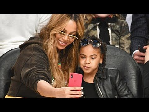 Beyonce & Blue Ivy STEAL the Spotlight at the 2018 NBA All Star Game