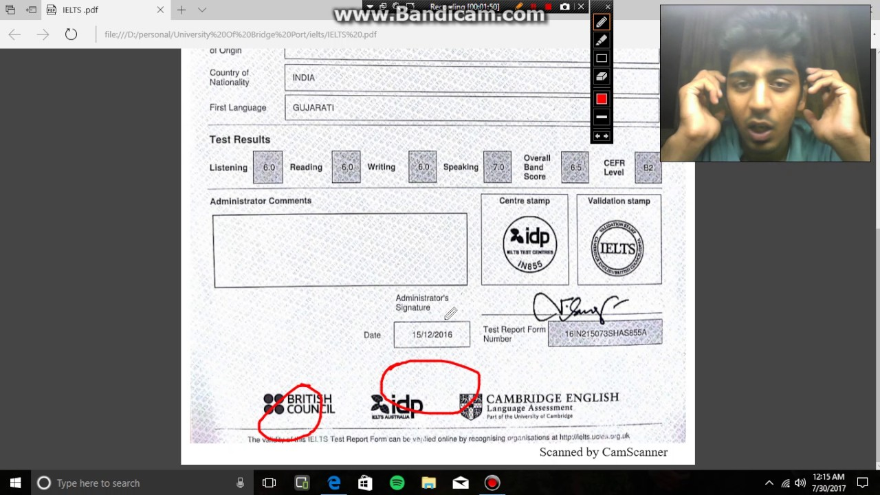 How to check your IELTS results online #ielts #results by