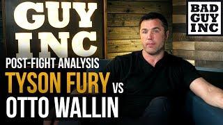 Tyson Fury v Otto Wallin... 30-1 Underdog?