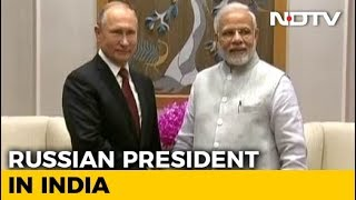 Russian President Vladimir Putin in India for Big Ticket Defence Deals