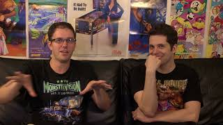 """James Rolfe tells his """"invisible"""" Super C story to Mike Matei"""