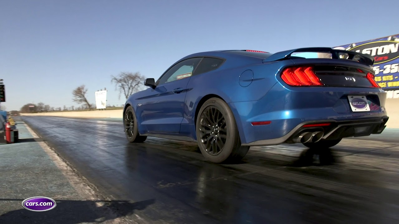 Can the 2018 ford mustang gt really do a sub 4 second zero to 60
